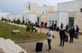 Irak'tan getirilen 127 Türk vatandaşı Mardin'de yurda yerleştirildi