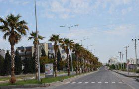 Nusaybin'de sokağa çıkma kısıtlamasına uyuluyor