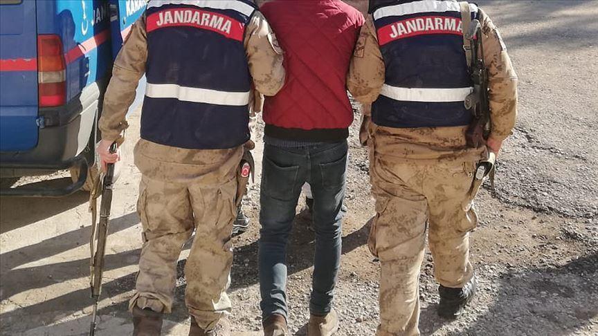 Derik'te bir terörist yakalandı