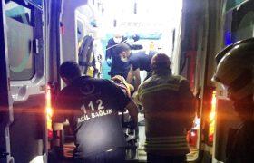 Tır otomobile çarptı: 5 yaralı