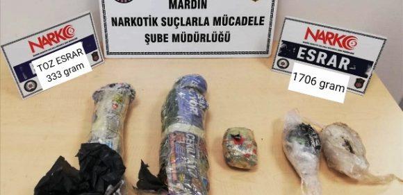 Uyuşturucu operasyonunda yakalanan 4 kişi tutuklandı