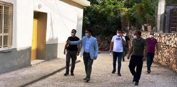 Başkan Aksoy yapılan çalışmaları denetledi
