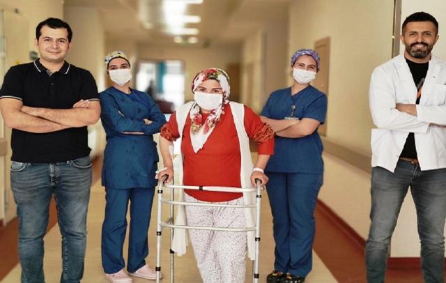 Mardin Devlet Hastanesinde İlk Defa Kısmi Diz Protezi Ameliyatı