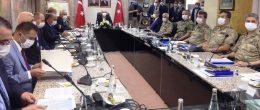 Bakan Soylu'dan Mardin'de güvenlik toplantısı