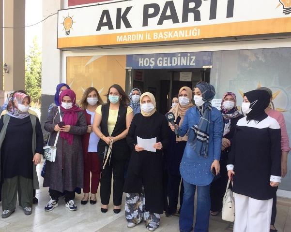 AK Parti Mardin İl Kadın Kolları başkanlığından suç duyurusu