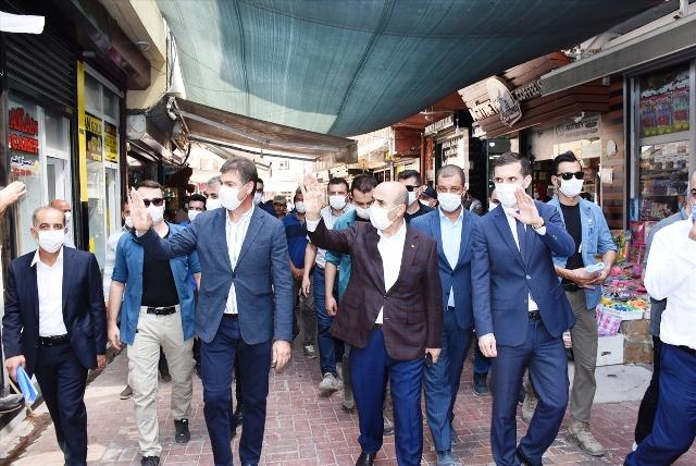 Vali Demirtaş, Artuklu ve Nusaybin'de incelemelerde bulundu