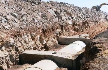 DSİ 15. Bölge Müdürlüğünün sulama çalışmaları sürüyor