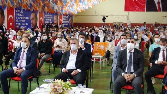 AK Parti Midyat ilçe olağan kongresi yapıldı