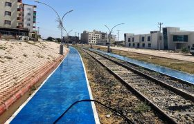 Nusaybin'de demiryolu çevresi temizlendi