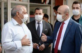 Vali Demirtaş'tan Kovid-19 denetimi