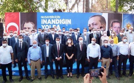 AK Parti Nusaybin ilçe Başkanlığına Özel yeniden seçildi