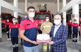 Vali Demirtaş, sertifika törenine katıldı