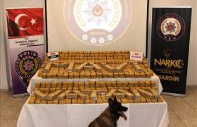 420 kilogram eroin ele geçirildi