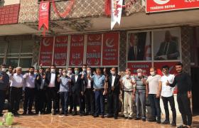 Yeniden Refah Partisi Kızıltepe Hizmet Binası Açıldı