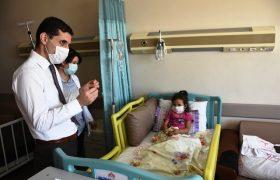 Nusaybin Kaymakamı Temizkan'dan Arin Güler'e destek ziyareti