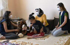 Özel gereksinimli çocuklara ziyaret