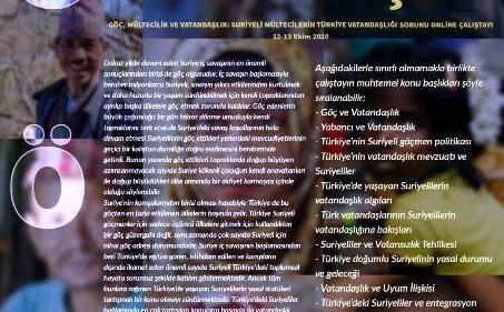Suriyeli Mültecilerin Türkiye Vatandaşlığı Sorunu Artuklu Üniversitesinde masaya yatırıldı