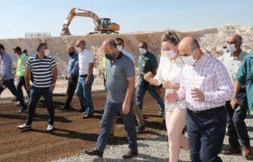 Vali Demirtaş, yol yapım çalışmalarını inceledi