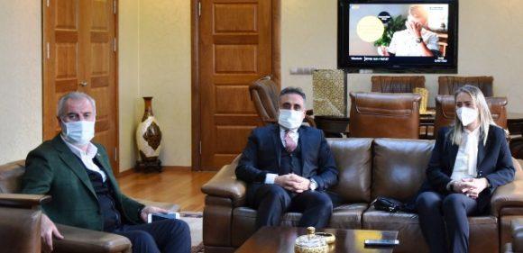 Milletvekillerinden, Rektör Özcoşar'a Ziyaret